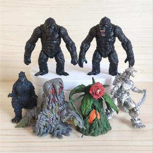 6 Pcs Godzilla Gojira 2021 Movie Monster Godzilla vs. King Kong  Action Figures