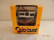 Kodak instant camera colorburst 100 with box and mauals