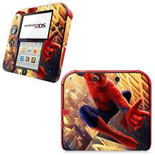 Spider Man SpiderMan Vinyl Skin Decal Sticker for Nintendo 2DS Console Skin Set
