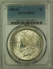 1899-O Morgan Silver Dollar $1 Coin PCGS MS-63 (10G)