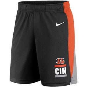 Brand New 2021 NFL Cincinnati Bengals Nike Broadcast Performance Dri-FIT Shorts