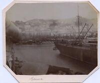 Gênes Genova Italia Italie Photo amateur Vintage citrate ca 1910