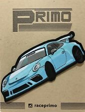 Porsche 911 GT3 GT3RS GT4 718 Boxster Cayman Sew On or Iron Patch Racing Car