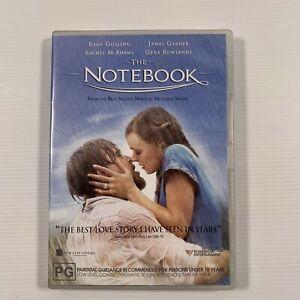 The Notebook (DVD, 2005) Rachel McAdams Ryan Gosling Nicholas Sparks Region 4