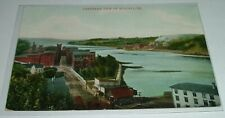 c1905 AUGUSTA Maine PANORAMA View on RIVER w FACTORIES Bottom of Sand Hill
