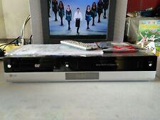 VIDEOREGISTRATORE VHS DVD HDMI LG V192H NUOVO EX VETRINA ISTRUZIONI E TELECOMAND