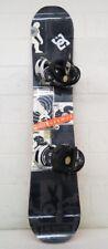 GNU Rider's Choice Magne Traction 158cm Wide Snowboard w/Burton Cartel Bindings