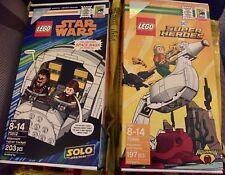 SDCC Comic Con 2018 LEGO DC Superheroes Aquaman & Star Wars Falcon Cockpit Solo