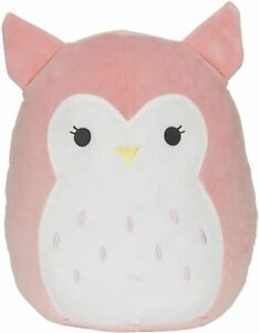 Squishmallow Kellytoy 12 inches Owl - Olive, Super Soft Plush Toy Pillow Doll