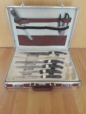 Müllermann Profiline Messerset Messer Koffer OVP 20-teilig - Handgearbeitet
