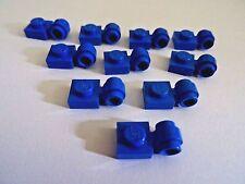 LEGO 1 X 1 bleu modifié Plaque avec Lumière Anneau partie 4081B x 10