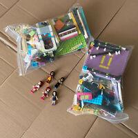 LEGO Friends - over 1Kg of Bricks Plates Parts Bundle - plus 5 friends minidolls