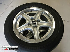 Set 4 New 15 x 6.5 mag wheels with 205 55 R15 Minerva Tyres 4 x 100 O/S 20P RWD