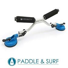 Legacy Kayak Canoe SUP Load Assister Roller Car Roof Rack Suction Cup Heavy Duty