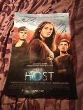 The Host signed movie poster max irons jake abel diane Kruger THE WHITE QUEEN