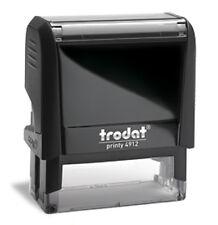 Custom Trodat 4912 / Ideal 80 Self-Inking 4 Line Office Address Stamp