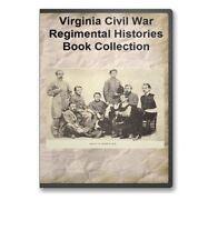 Virginia VA Civil War Regiment Genealogy 22 Book Set - B381