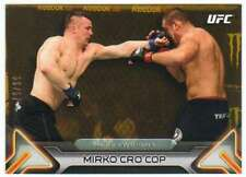 2016 Topps UFC Knockout Gold Parallel /99 #50 Mirko Cro Cop
