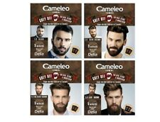 Cameleo Men Hair Beard Moustache Color Cream Grey OFF - Ammonia, PPD Free, 5 min