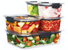 NEW Sistema Brilliance Leakproof Food Storage Container Lunchbox 14pc Gift Set!