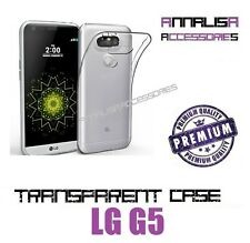 COVER TRASPARENTE PER LG G5 H850 CUSTODIA MORBIDA SILICONE SLIM TRANSPARENT CASE