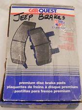 NEW Set 4 Front Rear Disk Brake Pads 2002 Jeep Wrangler BMD477 Blue