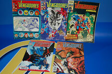 Comics-lot 5 numbers THE AVENGERS nº 55-56-especial spring forum