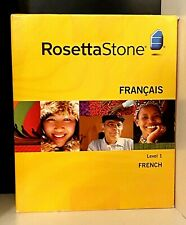 New! Rosetta Stone ~ Français ~ French Level 1 ~ CDs ~ Headset w/Mic ~ Software
