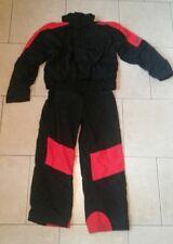 vtg White Sierra 2pc pants zip to jacket ski snow suit H2no insulated mens L M