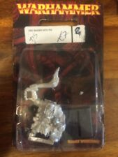 Orc Raider With Pig Rare Limited Release  New Blister Warhammer ORCS Metal OOP