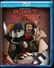 Puppet Master Axis of Evil Blu-ray, Full Moon Features and Charles Band