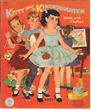 Vintage Uncut 1960 Kitty Kindergarten Paper Doll Laser Reproduction~No.1 Sellr