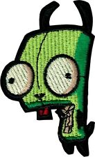 16223 Gir Robot Green Dog Cartoon Invader Zim Embroidered Iron On Patch