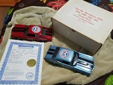 PAIR OF ERTL 1970 CHEVELLE SHOWDOWN,1994,CHICAGO IL. N.C.O.A...SPECIAL EDITION