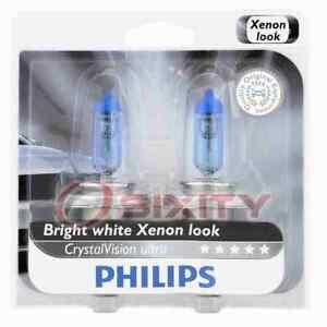 Philips 9003CVB2 CrystalVision Headlight Bulb for 75820 9003NHS/BP2 9003SU-2 gw