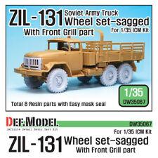 DEF. modello, sovietico Zil-131 TRUCK eccesso Set Ruota, DW35067, 1:35