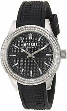 Versus by Versace SOT020015 Bayside Analog Display Quartz Black Watch