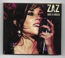 CD + DVD / ZAZ - SUR LA ROUTE / 11 TITRES + DVD ALBUM DIGIPACK 2015