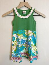 Matilda Jane Hammond Bay Lucky Clover Dress Floral Size 4