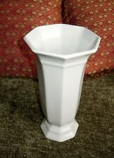 White  Hexagon Heritage Vase – Small