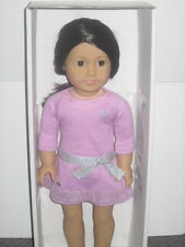 American Girl~Just like you Doll ~ Brown Eyes,Black/Brown Hair & light Skin NEW