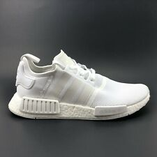 Adidas NMD R1 Triple White Boost Nomad Mens Size 10 BA7245