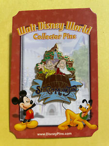Disney Pin Attractions Mystery Pin Collection Splash Mountain Grumpy & Dopey