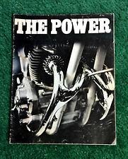 1971 Bsa Motorcycle Brochure Lightning Thunderbolt 650 A75 Rocket-3 750 B50Mx