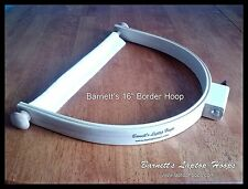 "Barnett's 16"" Custom Border Hoop is perfect for hand quilting"