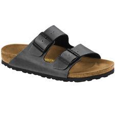 Birkenstock Arizona Birko-Flor Schuhe Sandale anthracite 1000126 Weite normal