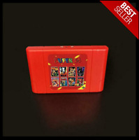 New Super 64 Retro Game Card 340 In 1 Game Cartridge For N64 Video Game Console