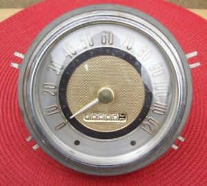 NOS MoPar 1954 54 Dodge Meadowbrook Coronet Royal 120 MPH SPEEDOMETER 1546127