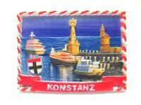 Konstanz Bodensee Magnet Poly 7 cm Germany Souvenir Leuchtturm