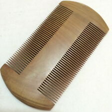 One Piece Natural Sandalwood Comb Fine Toothed healthy Comb both sizes 密梳子